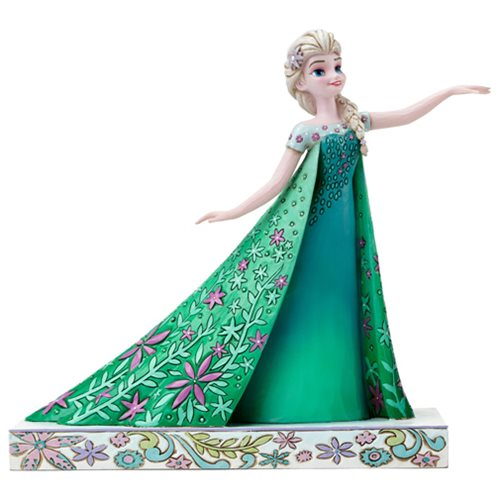 Disney Traditions Frozen Fever Elsa Statue