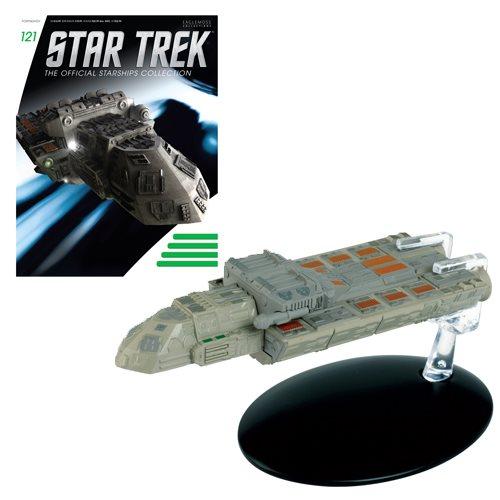 Star Trek Starships SS Xhosa Vehicle with Magazine #121