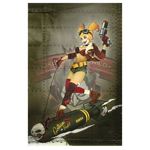 Art of DC Comics Bombshells Hard Cover Book