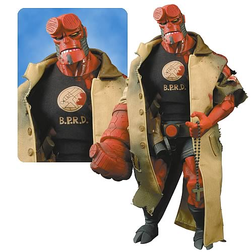 Hellboy Battle Damaged 18-inch Action Figure
