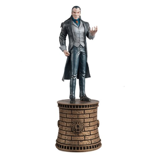 Marvel Morlun Black Bishop Chess Piece with Magazine -  Eaglemoss Publications