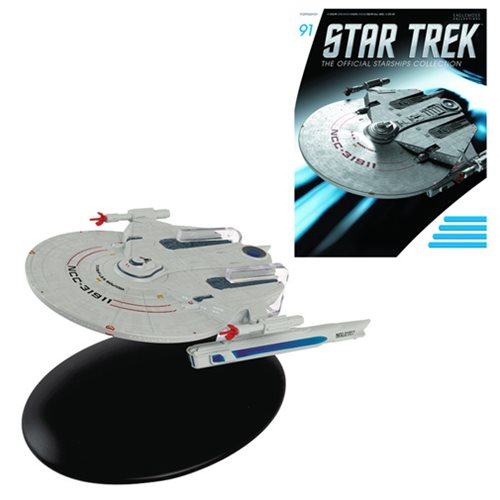 Star Trek U.S.S. Saratoga Die-Cast with Collector Mag #91