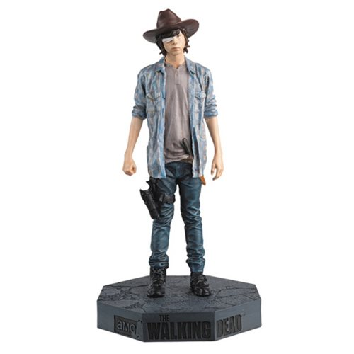 Walking Dead Carl Figure with Collector Magazine