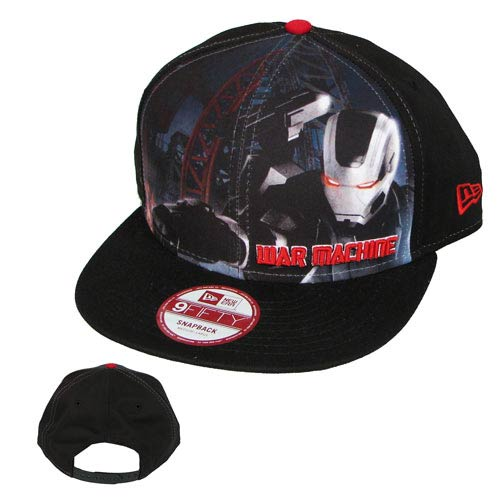 Iron Man 3 Sub Front 950 War Machine Cap Hat