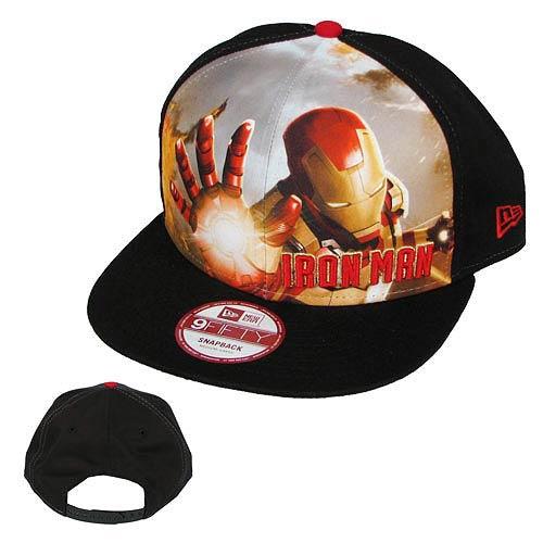 Iron Man 3 Sub Front 950 Iron Man Cap Hat