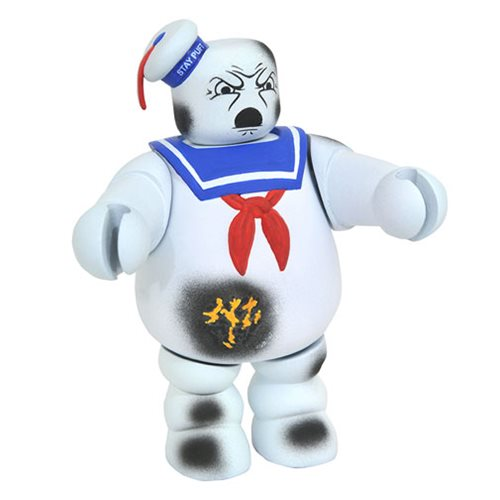 Ghostbusters Battle Damaged Stay Puft Vinimate Sdcc 2017