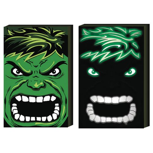 Hulk LED Light-Up Box Art