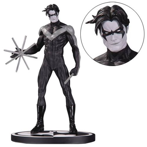 Batman Nightwing By Jim Lee Black And White Statue