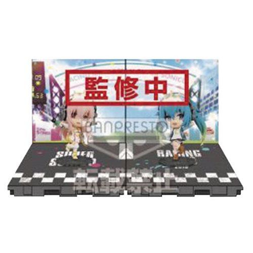 Hatsune Miku & Super Sonico Chibi-Kyun-Chara Mini-Fig. Set