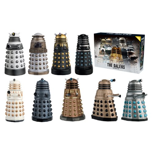 Doctor Who Figure Collection Dalek Parliament Set