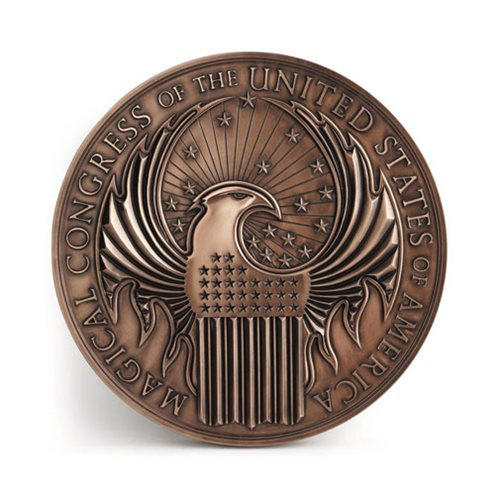 Fantastic Beasts Where to Find Them Macusa Crest Wall Art