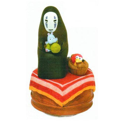 Spirited Away Knitting No-Face Music Box