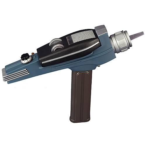 Star Trek Bronze Handle Phaser