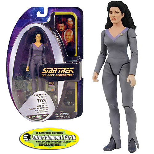 Star Trek Deanna Troi Action Figure - an EE Exclusive