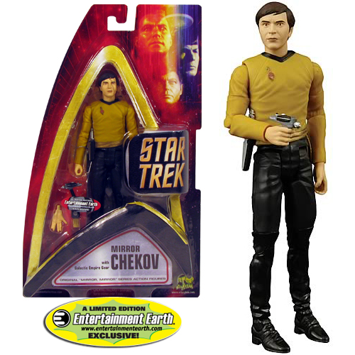 Star Trek Mirror, Mirror Chekov Action Figure - EE Exclusive