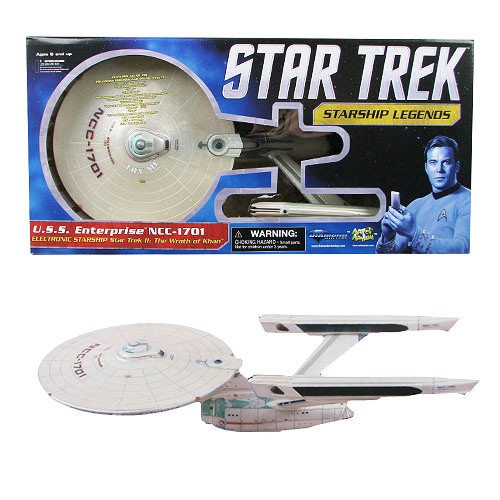 Star Trek II: The Wrath of Khan NCC-1701 Enterprise Ship