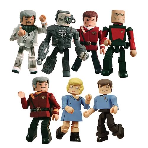 Star Trek Minimates Series 4 Set