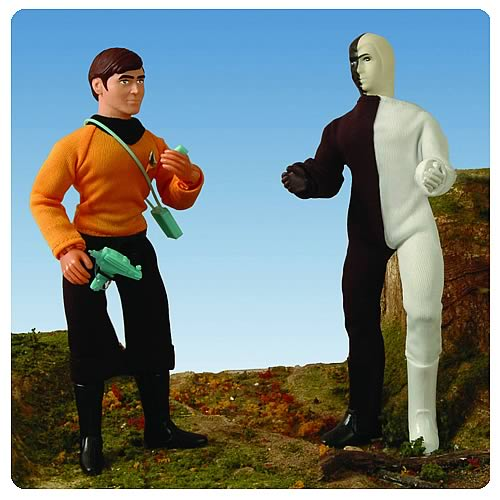 Star Trek Retro Series 6 Chekov and Cheron Action Figure Set