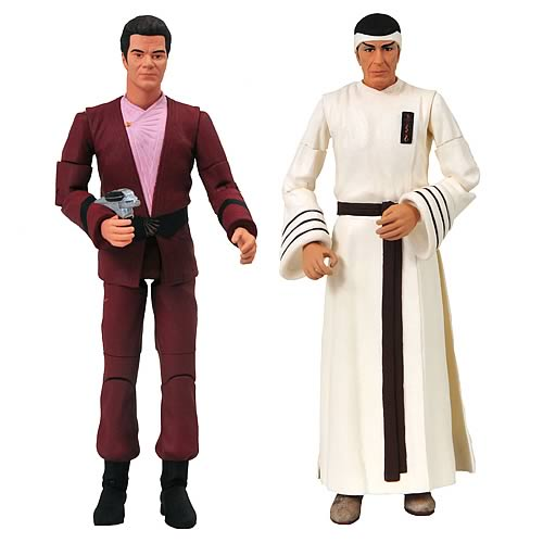 Star Trek Movie Kirk and Spock Figure 2-Pack