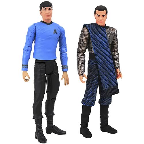 Star Trek Original Series Spock and Romulan Kirk  Figures