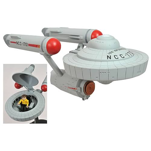 Star Trek TOS Starship Enterprise Minimates Vehicle