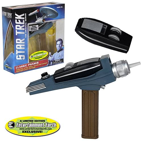 Star Trek Classic Gold Handle Phaser - EE Exclusive