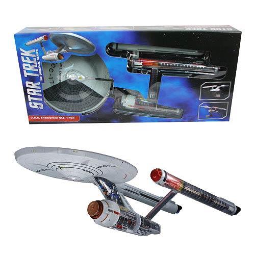 Star Trek Original Series Enterprise Cutaway Model