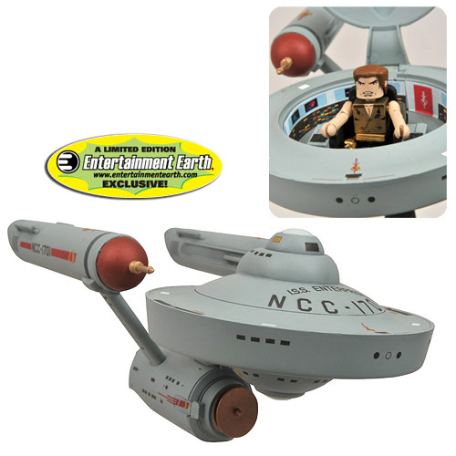 Star Trek EE Exclusive Mirror Minimates Enterprise Vehicle