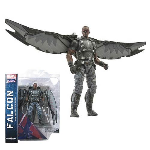 Marvel Select Captain America 2 Falcon Action Figure
