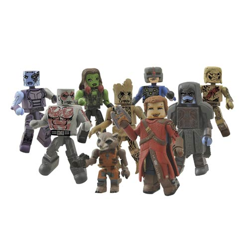 Guardians of the Galaxy Marvel Minimates 2-Pack Set