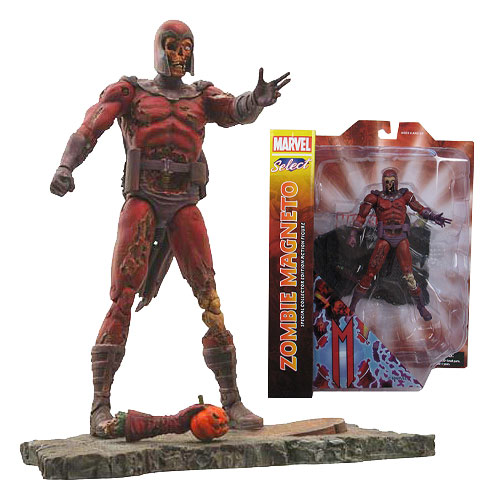 X-Men Zombie Magneto Marvel Select Action Figure