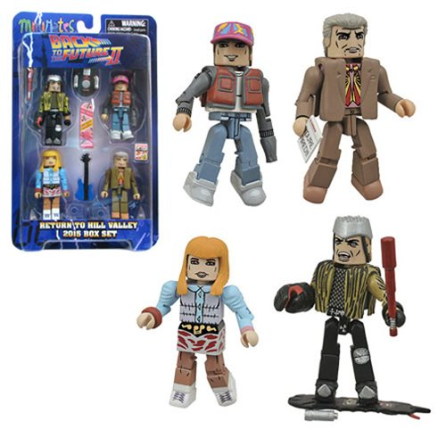 Back to the Future 30th Ann. Hill Valley Minimates Box Set