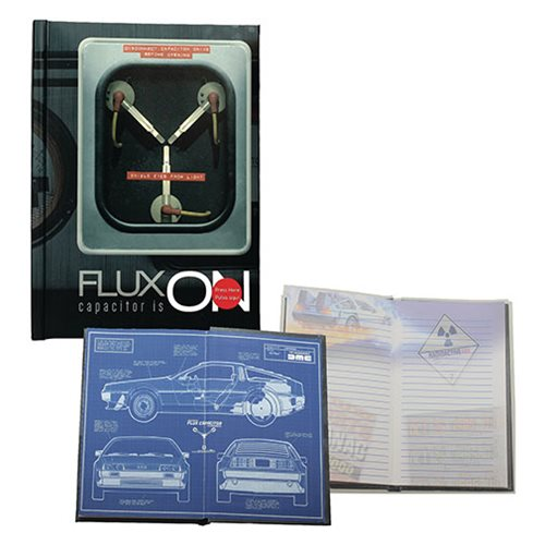 EAN 8436546890973 product image for Back to the Future Flux Capacitor Light-Up Journal | upcitemdb.com