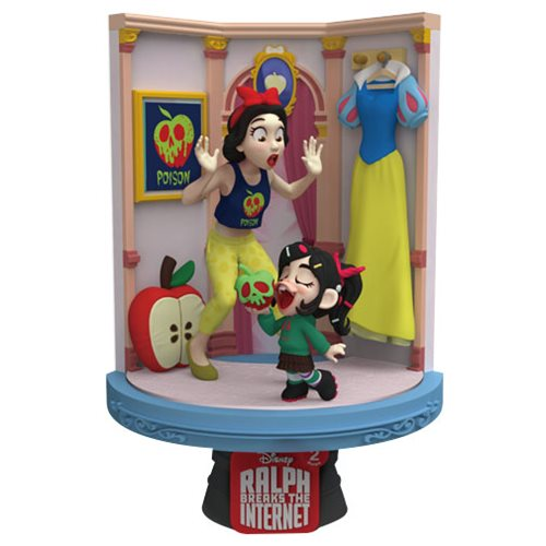 Ralph Breaks the Internet DS-026 Snow White D-Stage Series 6-Inch Statue - Previews Exclusive