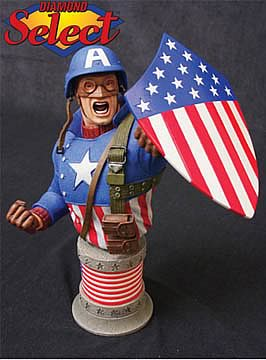 Captain America 1945 Bust