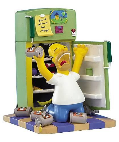 The Simpsons: Oh Cruel Fate Mini Statue