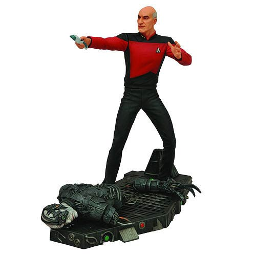Star Trek Select TNG Captain Jean-Luc Picard Figure
