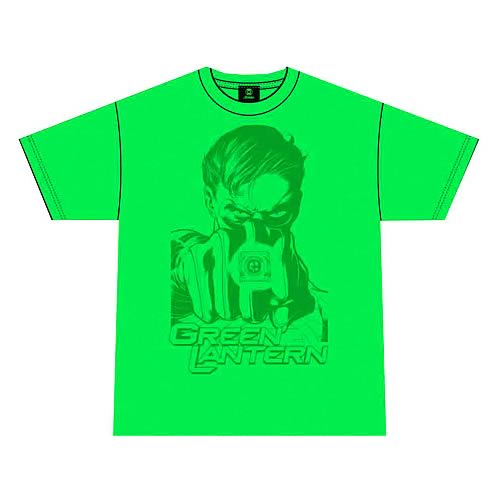 Green Lantern Movie Taking Aim Green T-Shirt