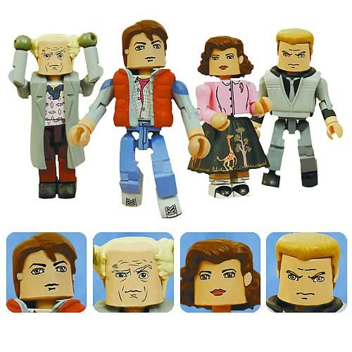 Back To The Future Minimates Mini-Figures