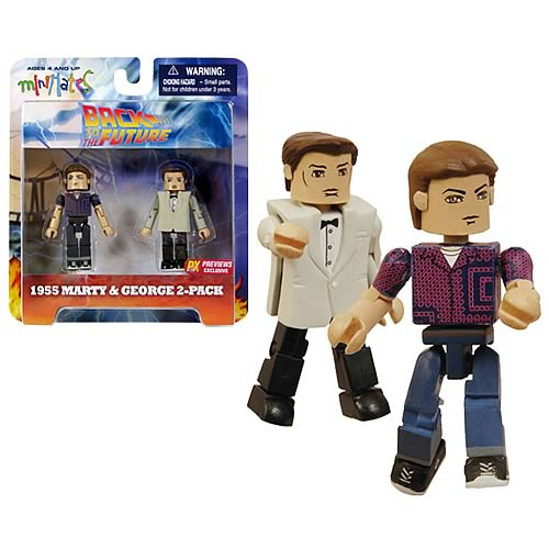 Back to the Future 50s Marty & Prom McFly Minimates 2-Pack