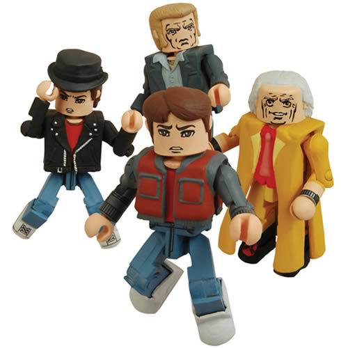 Back To The Future Minimates Series 2 Mini-Figures