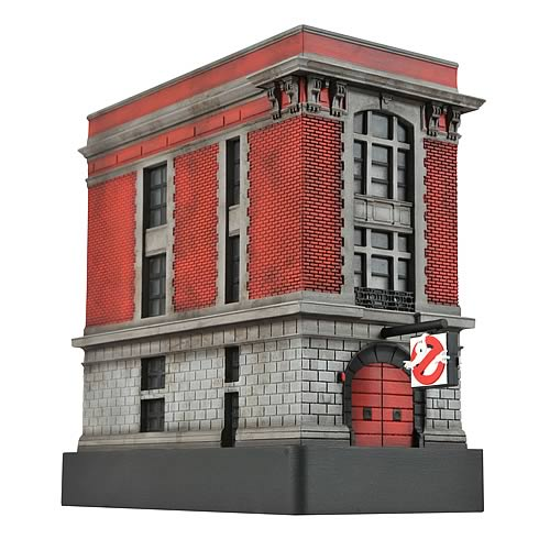 Ghostbusters Light Up Firehouse Statue Diamond Select