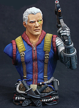 Marvel Universe Cable Bust