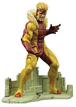 Jim Lee Sabretooth Statue