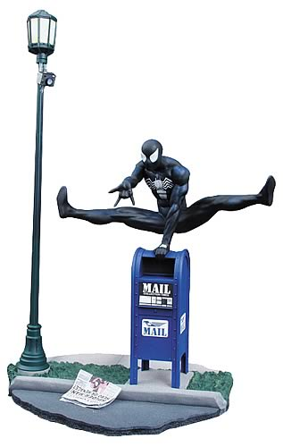 Premier Collection Symbiote Spider-Man Statue