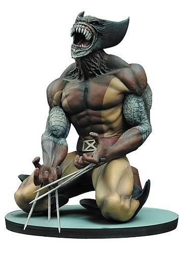 Marvel Milestones Brood Wolverine Statue