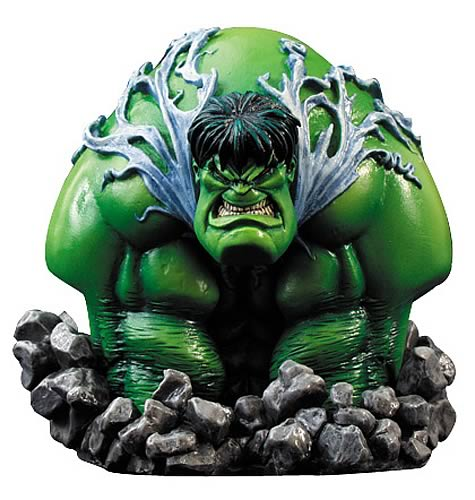 Sam Kieth Incredible Hulk Bust