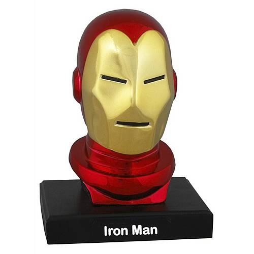 Alex Ross Iron Man Head Bust