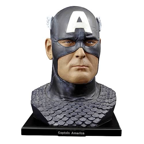 Captain America Alex Ross Head Bust
