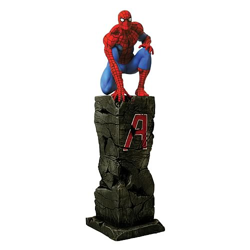 New Avengers Spider-Man Statue
